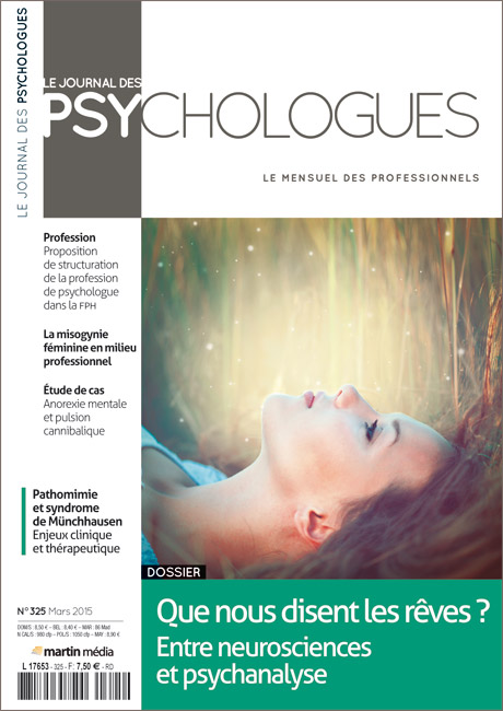 Journal des Psychologues n°325